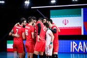 رونمایی از ترکیب تیم ملی والیبال ایران مقابل استرالیا