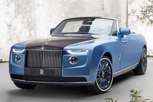 ببینید   رونمایی از لاکچریترین و گرانقیمتترین خودروی جهان توسط «رولز رویس»
