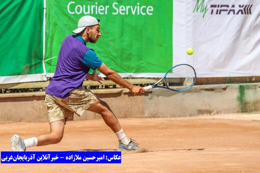 تصاویر | فینال رقابت تور جهانی تنیس زیر ۱۸ سال ارومیه