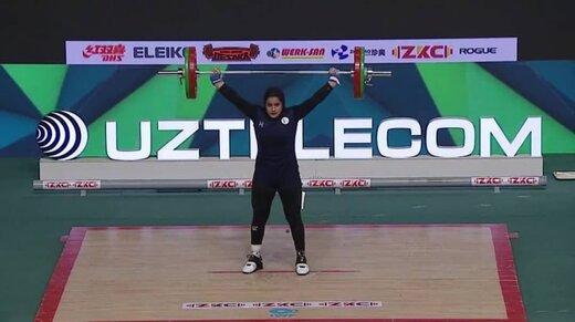یکتا جمالی،نخستین بانوی مدالآور وزنهبرداری ایران در جهان