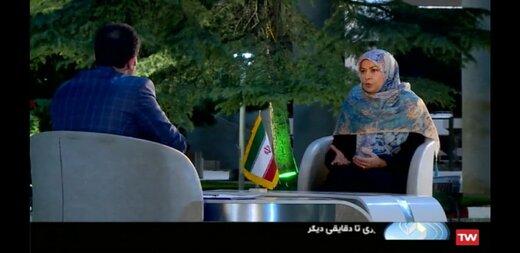 تصویر همسر کاندیدای ریاست جمهوری در تلویزیون /آیت الله هاشمی درباره همتی به روحانی چه گفته بود؟