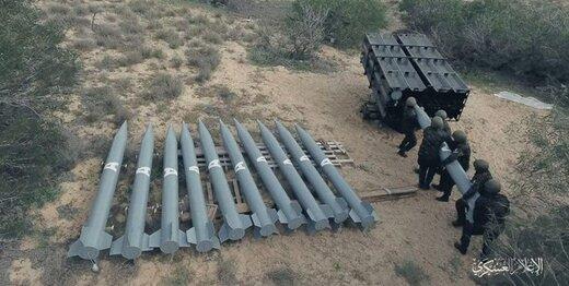 حماس از آغاز تولید هزاران موشک جدید خبر داد