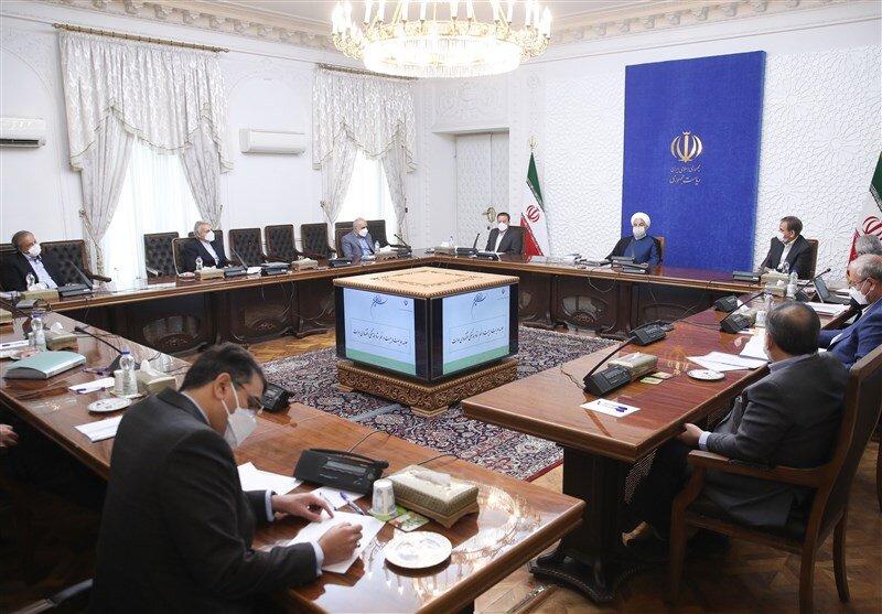 غیبت همتی در جلسه ستاد اقتصادی دولت به ریاست روحانی +عکس