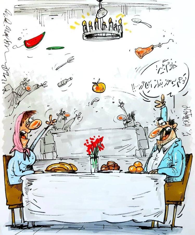 وضعیت رستوران ها پس از بازگشایی در دوران کرونا!