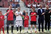 وزیر ورزش افغانستان از حجازی و پروین حرف زد