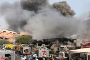ببینید   آتشسوزی گسترده در کارخانه تزریق پلاستیک پردیس