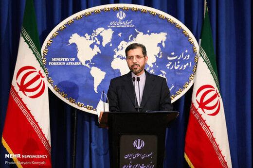 واکنش ایران به انفجار شهرک صدر