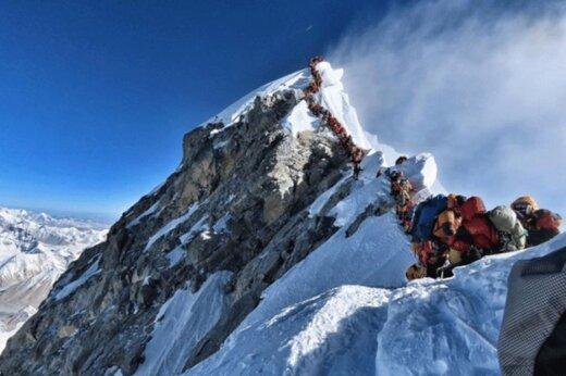 ببینید   صعود باورنکردنی کوهنورد نابینای چینی به اورست