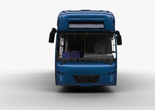 نوید آسمان پاک و ترافیک سبز با رونمایی از اولین اتوبوسبرقی مپنا