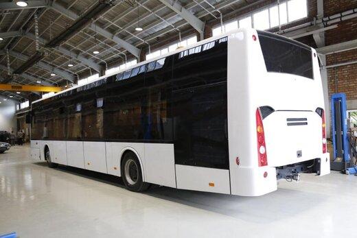 نخستین خودروی الکتریکی ۱۰۰ درصد داخلی تولید شد/رونمایی از اتوبوس برقی «شتاب»