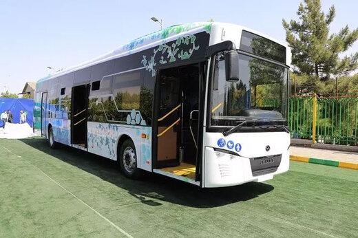 ببینید | رونمایی رسمی از نخستین اتوبوس برقی ساخت ایران با نام شتاب