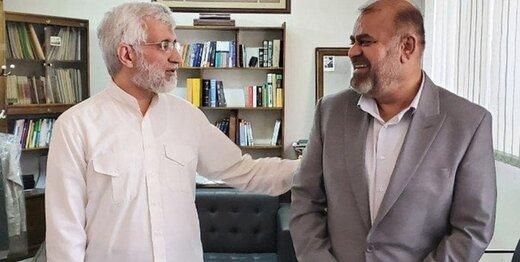 کدام وزیر احمدی نژاد به دیدار سعید جلیلی رفت؟ +عکس