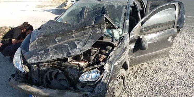 نجات معجزهآسای راننده پژو در بزرگراه همت