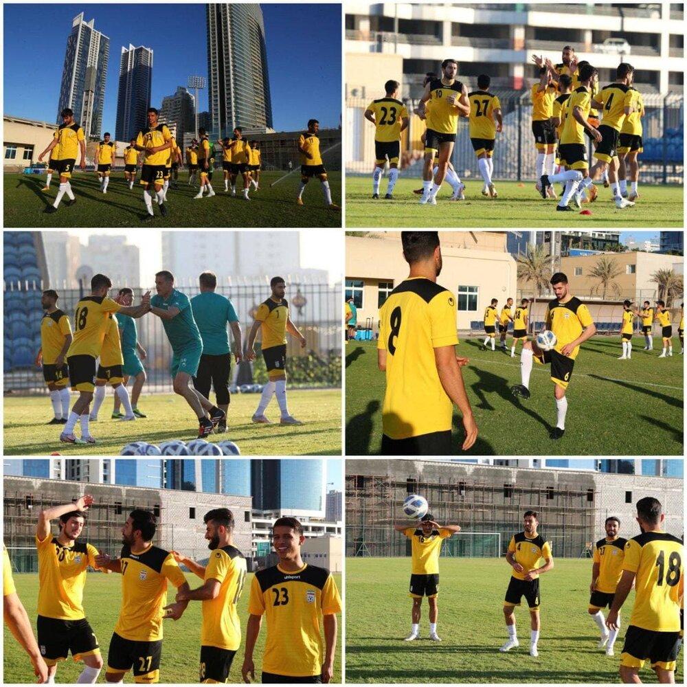 آخرین تمرین تیم ملی فوتبال قبل از جدال با هنگکنگ/عکس