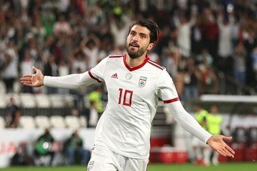 انصاریفرد سومین گلزن برتر آسیا در انتخابی جام جهانی