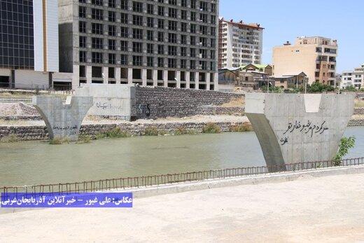 پارکی که افتتاح نشده در حال تخریب است