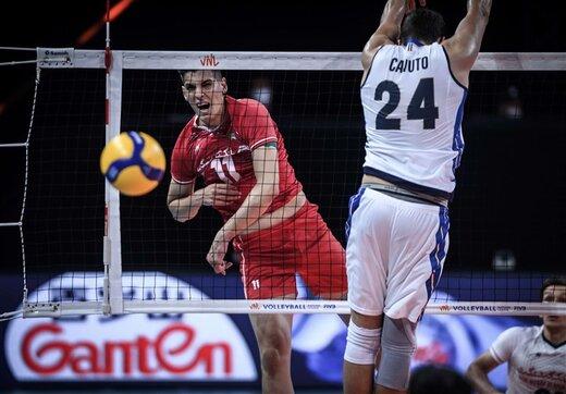 ستاره ایران مقابل ایتالیا چه کسی بود؟