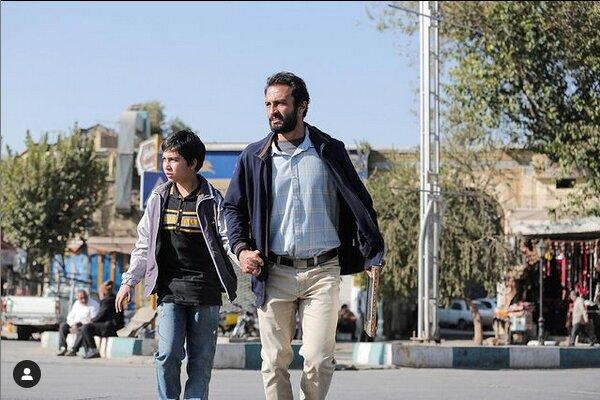 گریم امیر جدیدی در فیلم جدید اصغر فرهادی / عکس