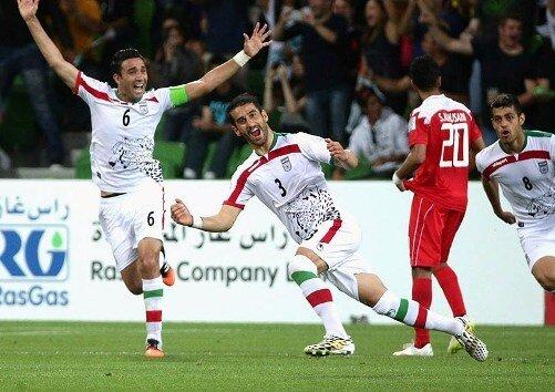 حاج صفی کاپیتان ایران مقابل عراق