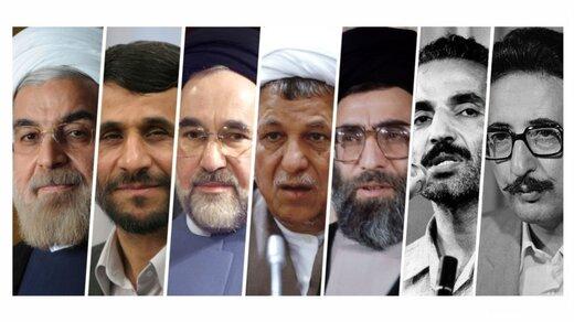 این ۷ چهره سیاسی با چند درصد مشارکت مردمی رئیس جمهور شدند؟