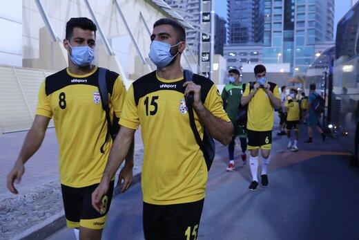 تمرین پرنشاط ملیپوشان قبل از بازی با بحرین