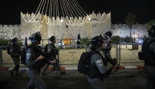 رژیم صهیونیستی دهها معترض  فلسطینی را زخمی کرد