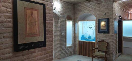 برپایی نمایشگاه تصویر نگارههای موزه ملی ملک در موزه اقوام گرمسار