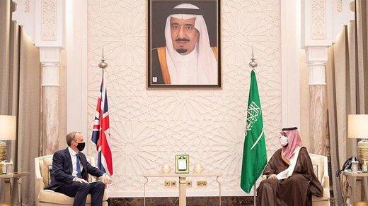 بن سلمان با وزیر خارجه انگلیس دیدار کرد