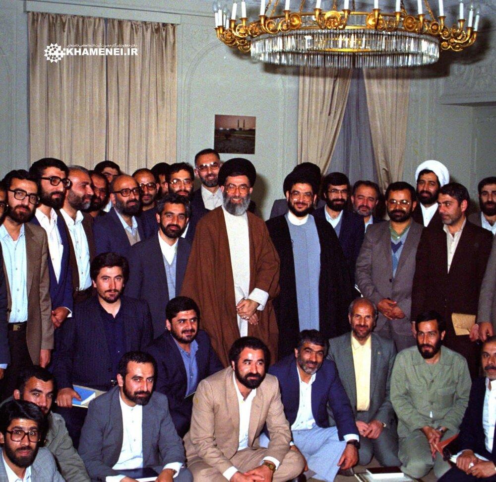 عکس    تصویری منتشرنشده از حجتالاسلام محتشمیپور آیتالله خامنهای
