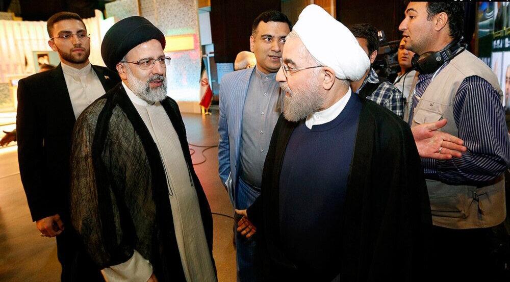 مقایسه سخنرانی اول روحانی و رئیسی  در دانشگاه/ احمدی نژاد و خاتمی چه وعده ای دادند
