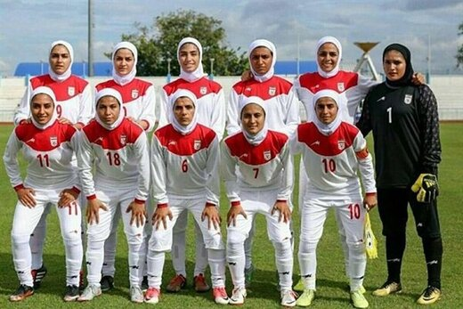زنان فوتبالیست ایران با اردن و بنگلادش همگروه شدند