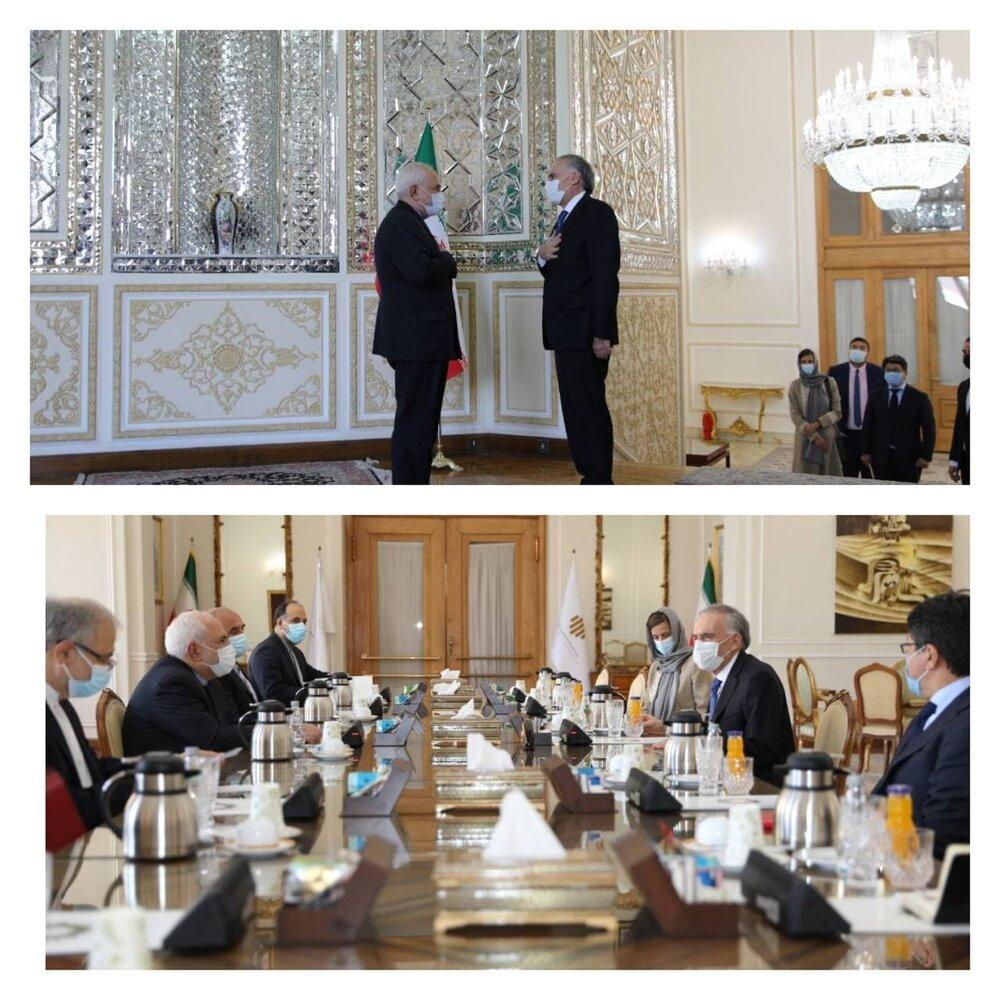 در دیدر ظریف با نماینده ویژه افغانستان چه گذشت؟