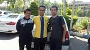 تیکه علی کریمی به عزیزی خادم بعد از یک انتصاب/عکس