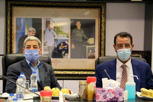 ابوالفضل پایداری: وزیر کشاورزی عراق خواستار سرمایه گذاری میهن در کشورش شد