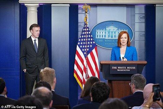 نشست خبری سخنگوی کاخ سفید طبق روال پیش از کرونا