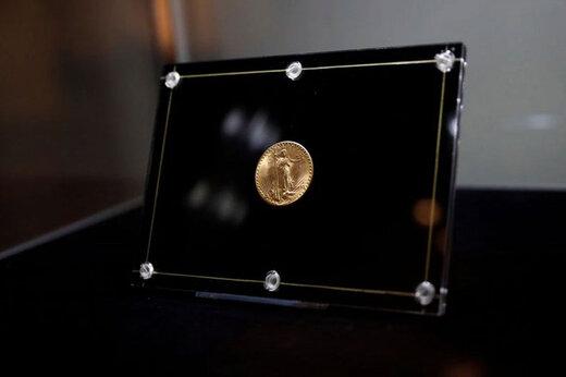 ببینید | رونمایی از سکه ۱۸.۸ میلیون دلاری
