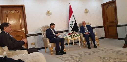 خطیبزاده با وزیرخارجه عراق دیدار کرد