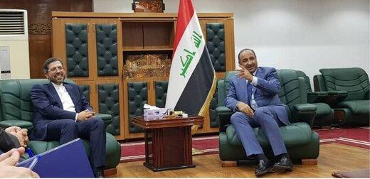 دیدار خطیبزاده با وزیر فرهنگ عراق