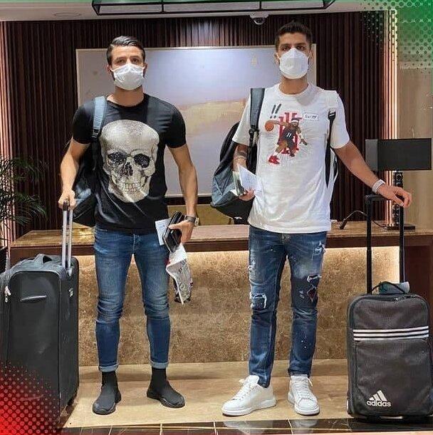 غلامی و سرلک با تیپ جالب در اردوی تیمملی/عکس
