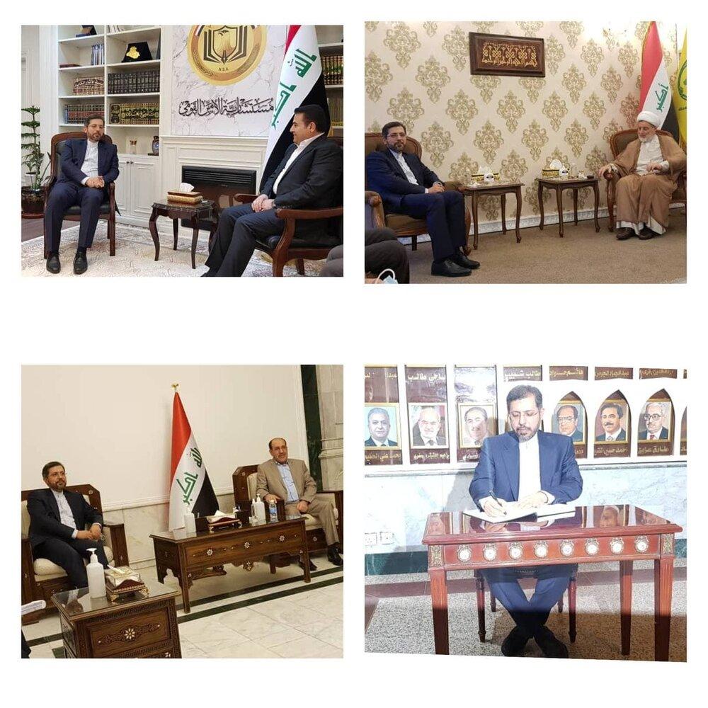 دیدار سخنگوی وزارت خارجه با شخصیتهای سیاسی عراق/عکس
