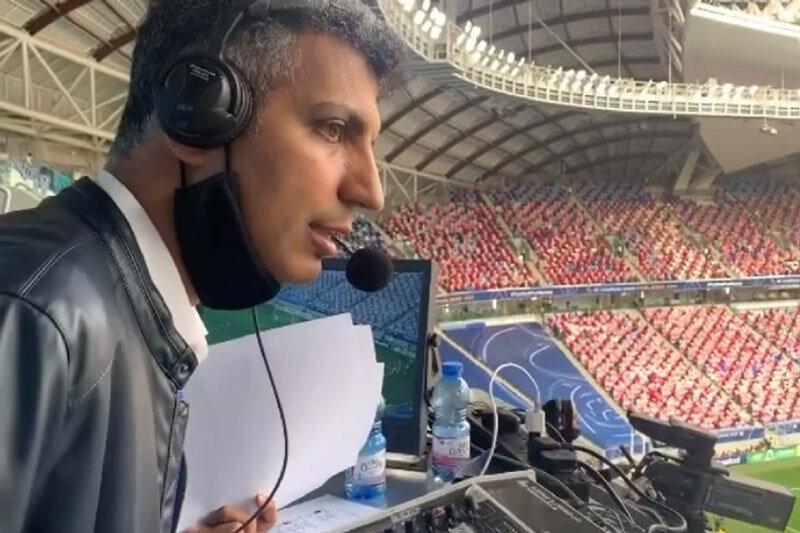 ببینید | گزارش بازی ایران و بحرین با صدای عادل فردوسی پور