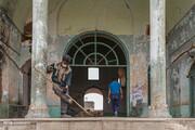 تصاویر | «عمارت نواب» در گیر و دار مرمت