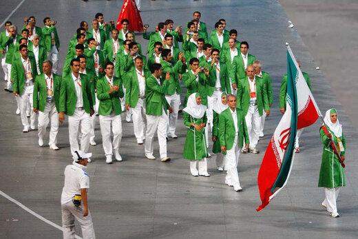 کدام ورزشکاران پرچمدار ایران بودند؟