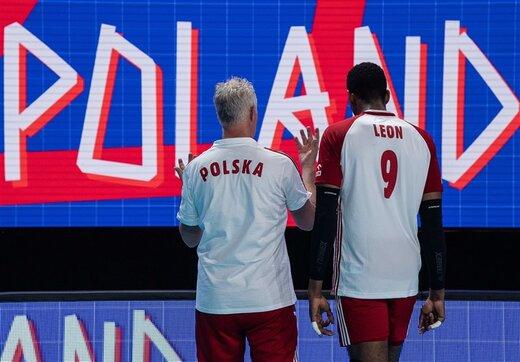 لهستان صدرنشین لیگ ملتهای والیبال
