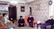دیدار وزیر اطلاعات با خانواده شهید مدافع