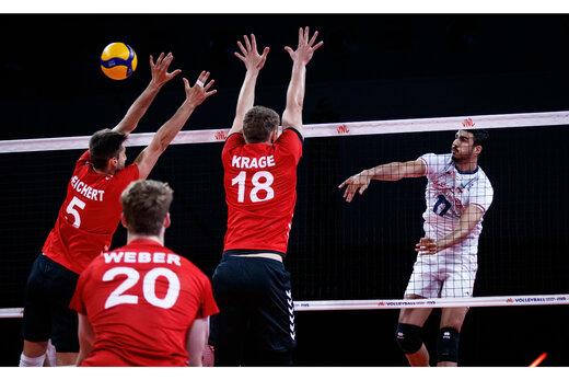 Iran lose to Germany at 2021 VNL