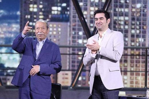 ببینید | آواز سوزناک علی نصیریان که اشک شهاب حسینی را درآورد
