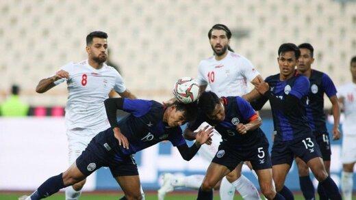 پوستر AFC برای بازی ایران و کامبوج/عکس