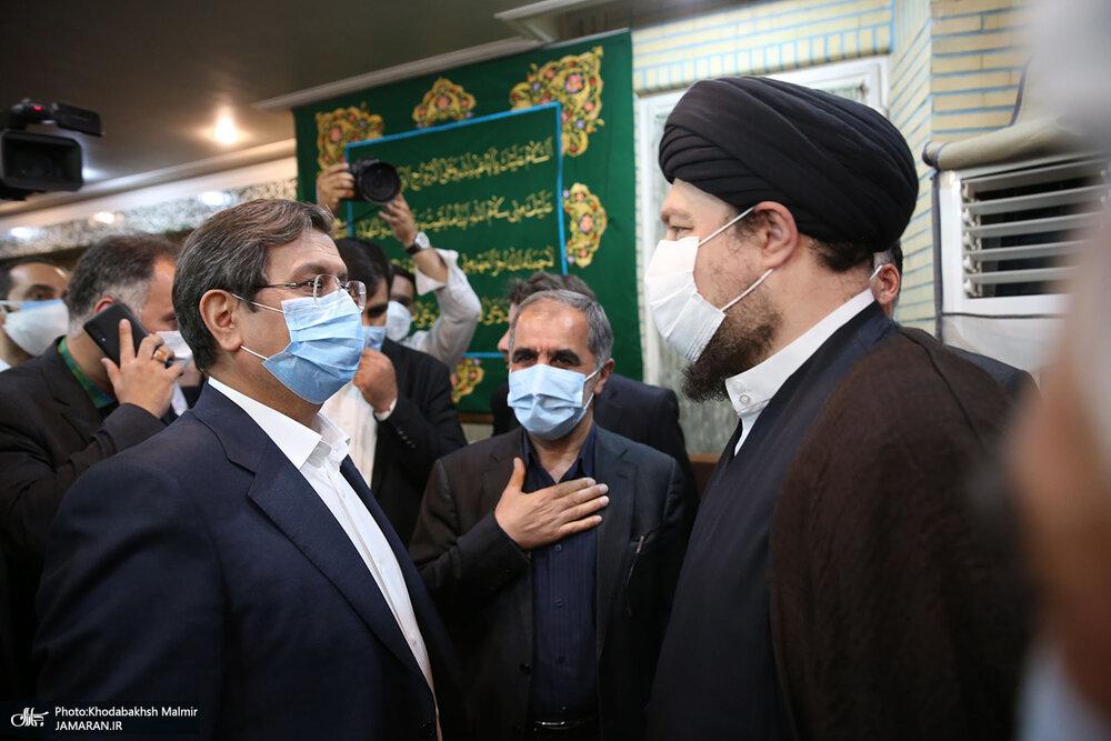 تصویر متفاوت از سیدحسن خمینی در کنار یکی از کاندیداهای ریاست جمهوری