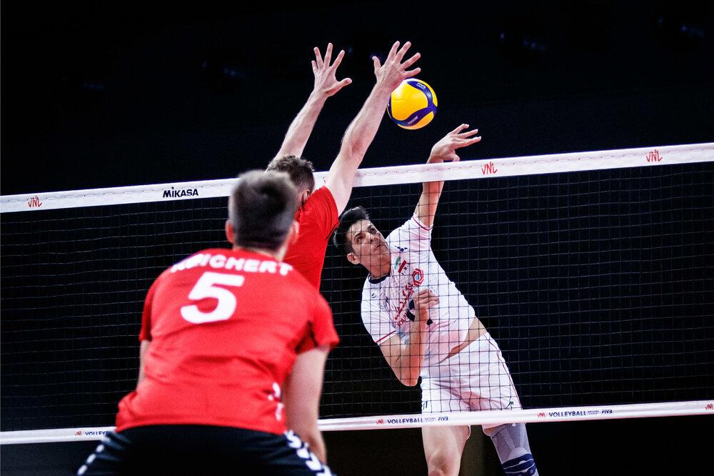 والیبال ایران با اشتباهات خودی به آلمانها باخت!